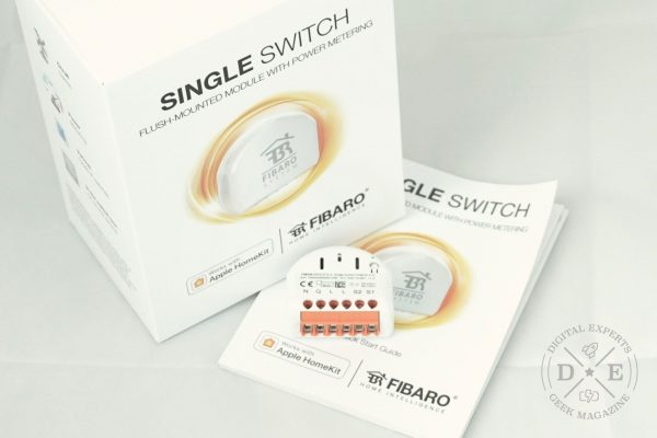 Steckdose mit Apple Homekit steuern: Fibaro Single Switch im Test