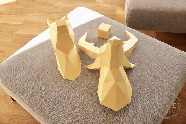 Papertrophy und Papershape: Was taugen 3D Papiertiere?