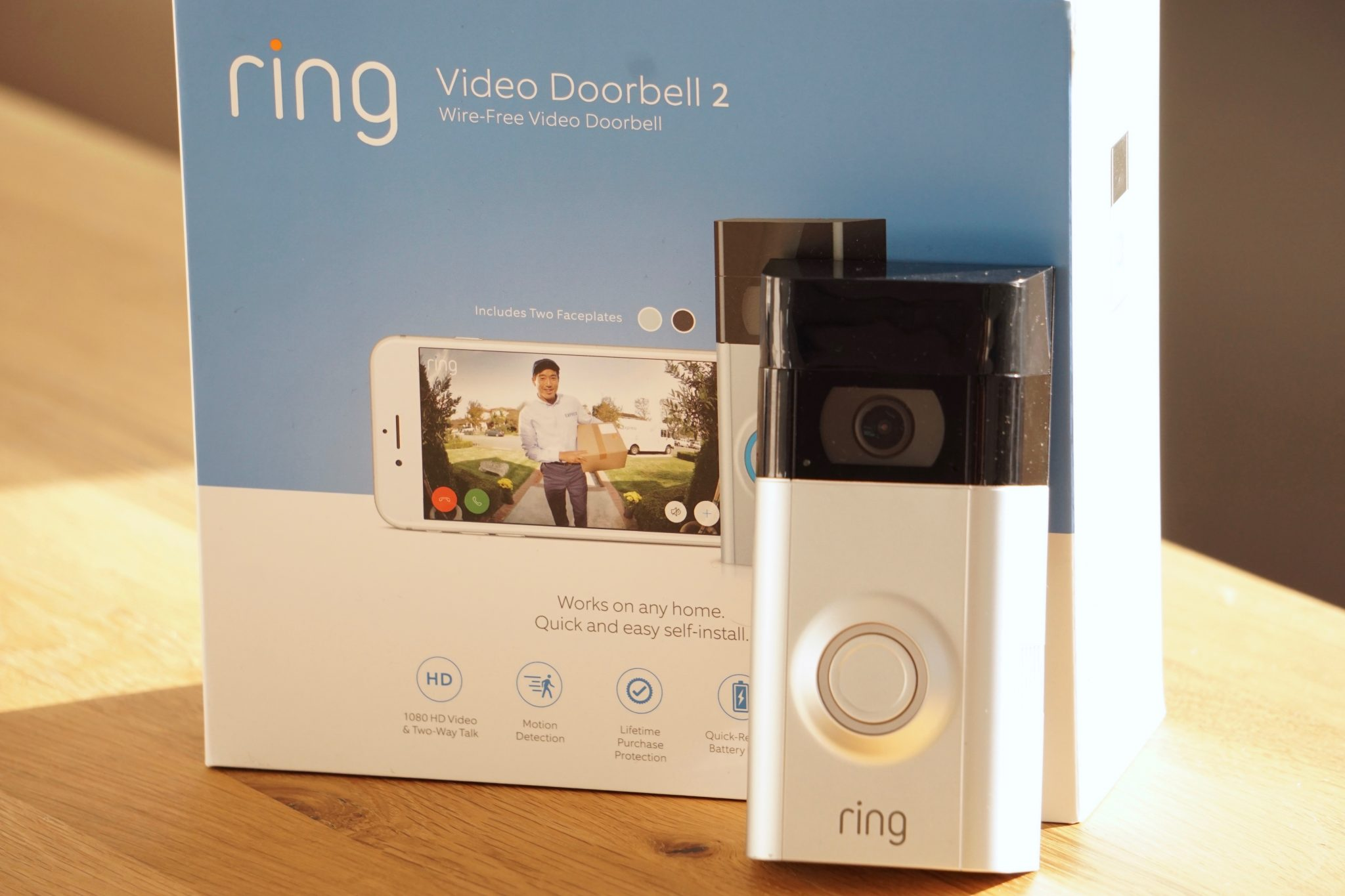 Test Ring Video Doorbell 2 – Türsprechanlage mit Cloudzugriff ...