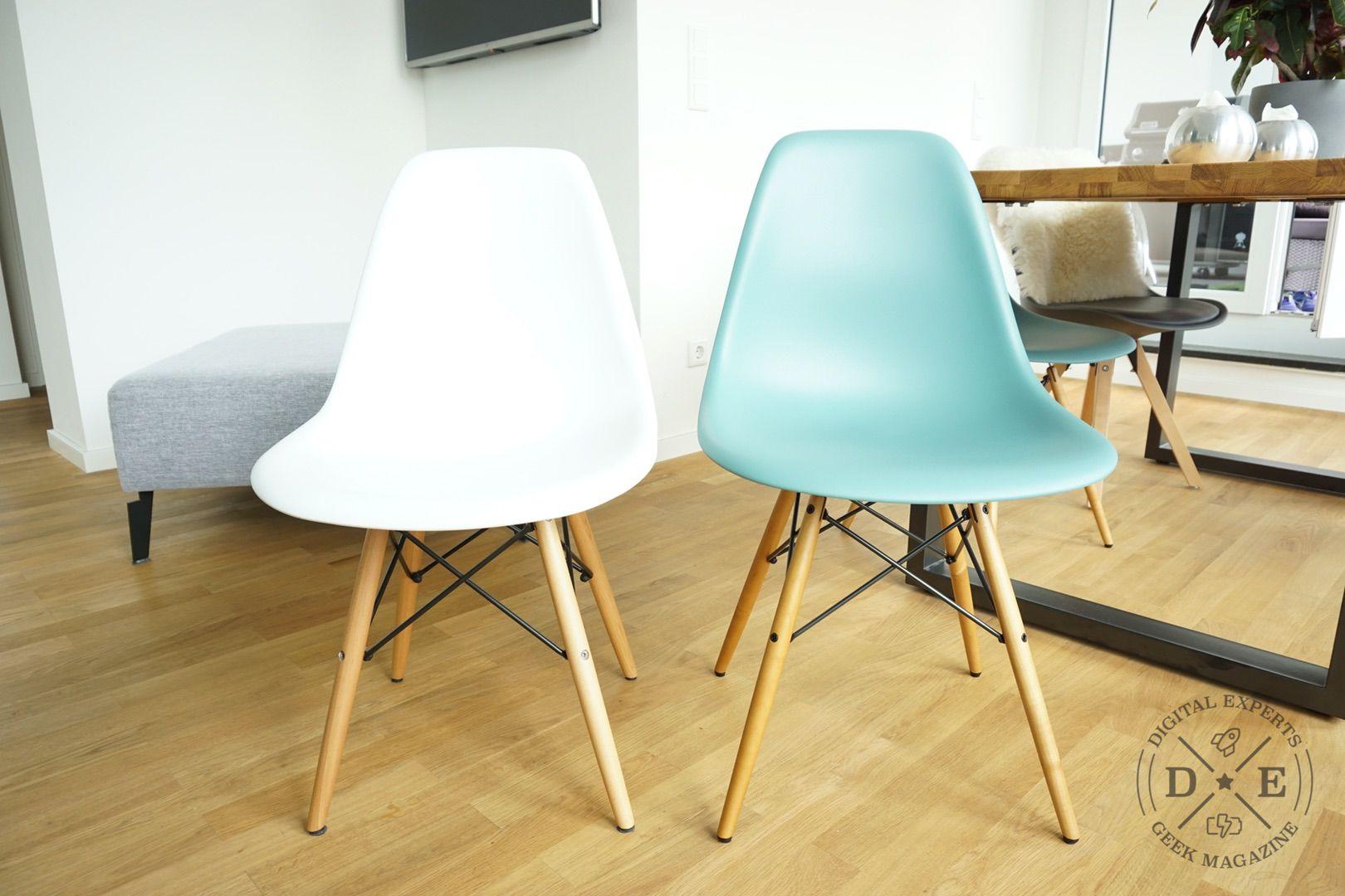 Vitra Eames Chair DSW Replika: das sind die Unterschiede zum ...