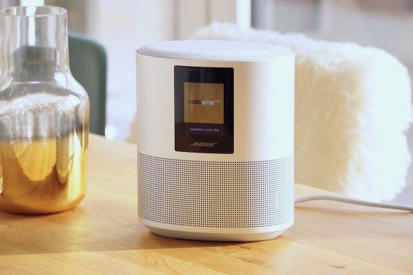 Bose Home Speaker 500: ein Stück Alu mit sattem Klang