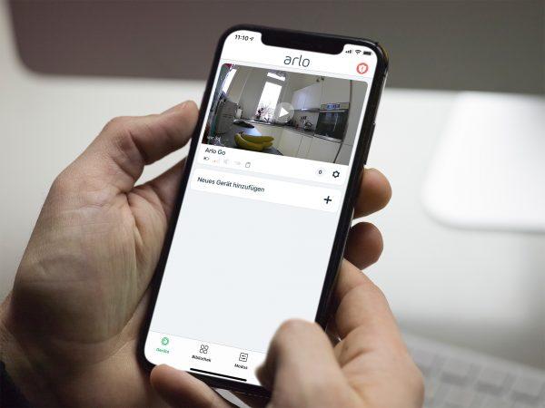 arlo-go-app-livezugriff